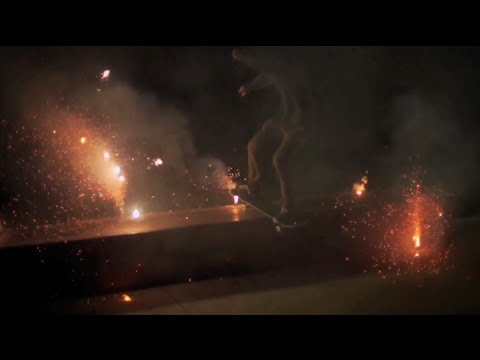 Happy 4th of July! Fireworks Skateboarding