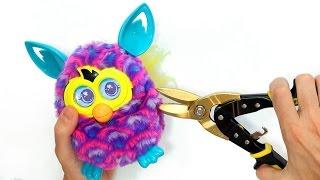 Qué Hay Dentro de un Furby Boom VIVO?