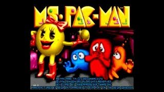 NES-Longplay-Ms. Pac-Man (Tengen) HD (U)