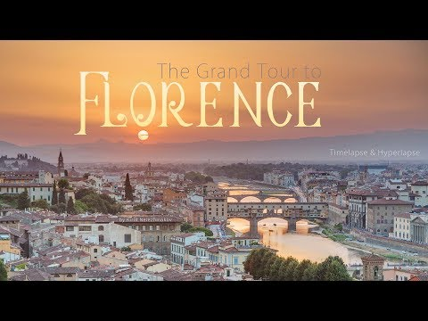The Grand Tour to Florence. Italy Timelapse & Hyperlapse