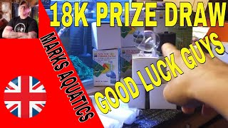 THE 18K SUB PRIZE DRAW. AND A MASSIVE THANK YOU TO YOU ALL.