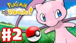 Pokemon Let's Go Pikachu and Eevee - Gameplay Walkthrough Part 2 - How to Get Mew! Poke Ball Plus!