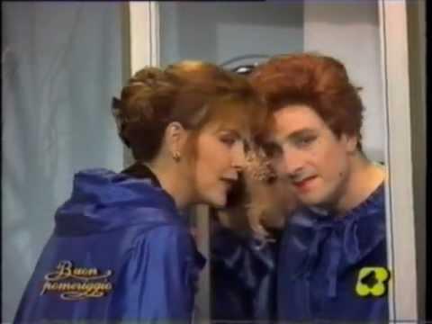Bobo Lucchesi & Patrizia Rossetti televendite Clic Clac (gag dello specchio)