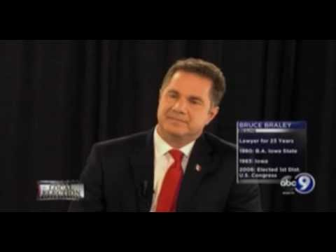 """Debate Moderator Confirms """"Rank-And-File"""" Bruce Braley Has Only Passed 1 Bill In 8 Years"""