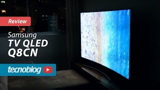 TV QLED Samsung Q8CN - Review Tecnoblog