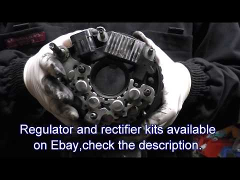 Repair of alternator for Hyundai Santa Fe,Trajet,Tuscon Also Kia Carens,Sportage.CRDi engines.