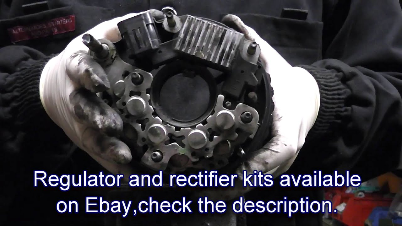 Repair Of Alternator For Hyundai Santa Fe Trajet Tuscon