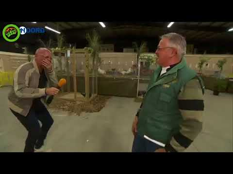 Интервью с голландским фермером превратилась в истерику и неудержимый хохот.