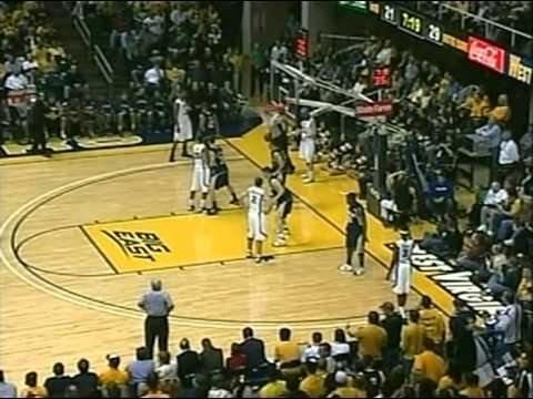 2008-09 BB - WVU vs Notre Dame - 1st Half