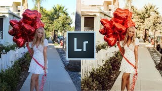 How to Edit Warm Photos Like @laurenanciaux Instagram Lightroom Editing Tutorial Warm Tones