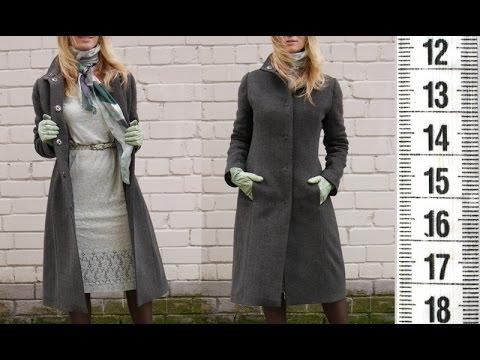 Я ШЬЮ: Пальто с утепленной подкладкой, карман в шве, ворот стойка.