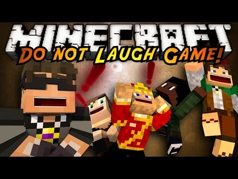 Minecraft Mini-Game : DO NOT LAUGH 3!