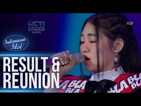 VIA VALLEN - FIRASAT (Marcell) - RESULT & REUNION - Indonesian Idol 2018