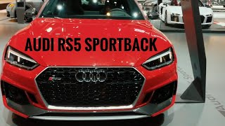 Audi RS5 Sportback - First Look/Review - Chicago Auto Show 2019