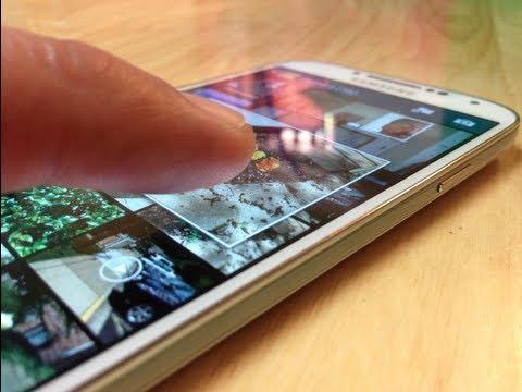 Samsung Galaxy S4 Tour por las funciones Air View. Air Gesture. Smart scrool. Smart pause