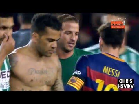 Rafael Van der Vaart Vs FC Barcelona | La Liga 15/16 | HD 720p | Betis Sevilla | away | 12/30/15