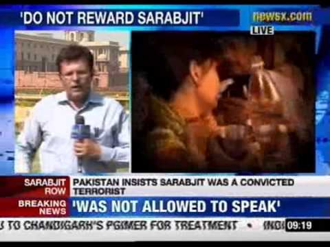 Pakistan objects to India's calling Sarabjit a martyr