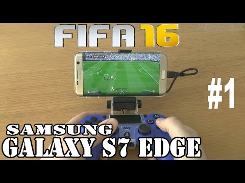 1# FIFA 16 running on Samsung Galaxy S7 edge - streaming by PS4 Remote Play program
