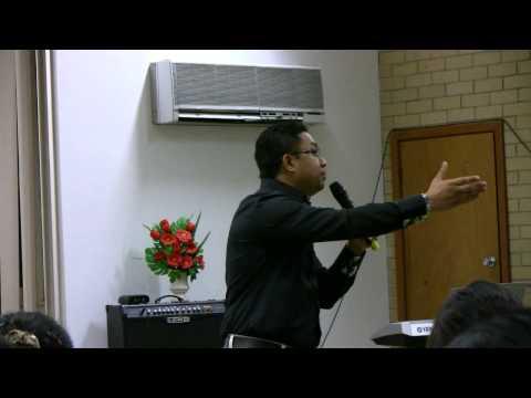 Saya David Lah @ Perth Siyin Baptist Church (31 March 2013) Part  2 of 2