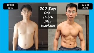 300 Days of One Punch Man Workout