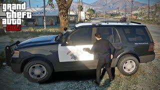 GTA 5 Roleplay - DOJ 294 - Stealing More Police Cars (Criminal)