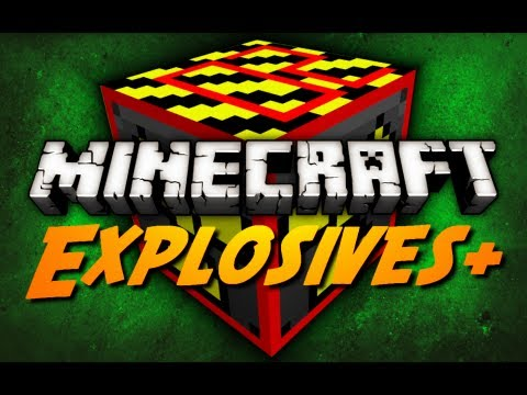 Minecraft Mod Review: EXPLOSIVES+ - Pt. 2 (Sticky TNT, Mega Nuke, Nova & Genesis Bomb)