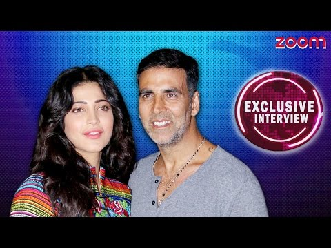 Hangout With Akshay Kumar And Shruti Haasan - EXCLUSIVE | Gabbar is Back