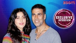 Shruti Haasan & Akshay Kumar Exclusive Interview - zoom