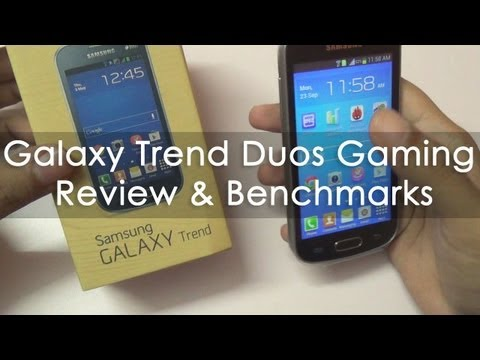 Samsung Galaxy Trend Duos GT-S7392 Gaming Review & Benchmarks