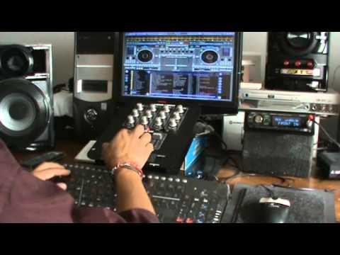 Virtual dj Musica disco