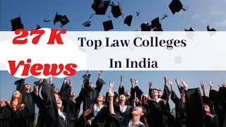 Top 30 Government Law Colleges In India | For Law Students |