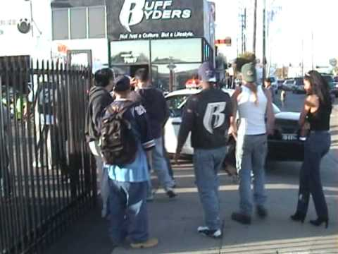 RUFF RYDERS WINK 1100 PULLED OVER BY LAPD