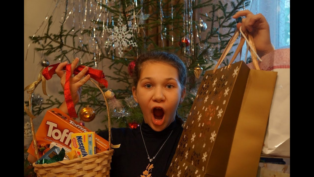 Мои подарки на рождество 2014