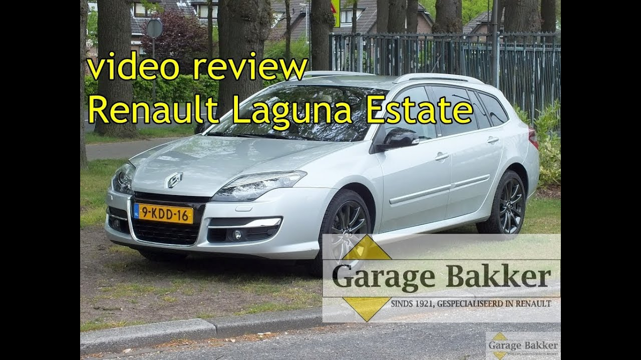 video review renault laguna estate 2 0 dci 180 gt line 4control kenteken 9 kdd 16 youtube. Black Bedroom Furniture Sets. Home Design Ideas