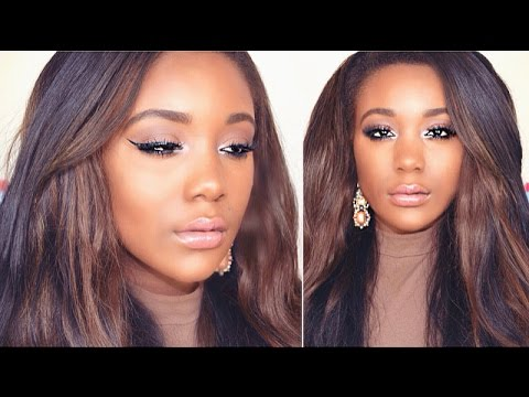Summer Bronze Makeup Tutorial! My GO TO Night Out Makeup Look