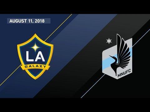 HIGHLIGHTS: LA Galaxy vs. Minnesota United FC | August 11, 2018 thumbnail