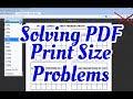 Trouble Printing PDF Freebie at full size?