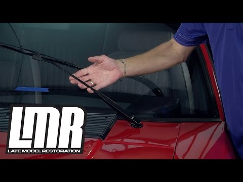 Mustang Windshield Wiper Blades Installation - 5.0Resto (Fox Body)