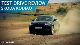 Skoda Kodiaq Launched | Test Drive & Off Road Review | CarWale