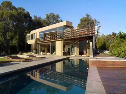 Moderna casa de lujo en malib youtube - Casas de lujo modernas ...