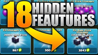 Clash of Clans – 18 HIDDEN UPDATE FEATURES! NEW FEATURES 'BOWLER' UPDATE! (CoC NEW Update Features)