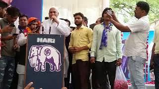 अलवर बसपा प्रत्याशी इमरान खान ने जनता से मांगा जनसमर्थन