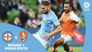 Hyundai A-League 2017/18 Round 1: Melbourne City 2 – 0 Brisbane Roar