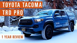 Toyota Tacoma TRD Pro : One Year Review