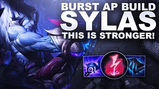 NEW AP BURST SYLAS, IS THIS BETTER? | League of Legends