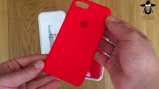 Apple Silicone Case ORIGINAL vs COPY