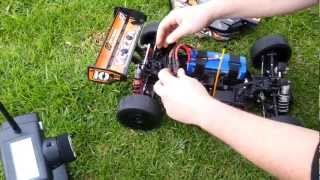 HPI Vorza - Very Very FAST!!! 151 kph - 94mph speed run