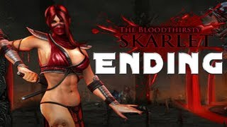 Mortal Kombat 9 Skarlet Story Ending - [HD]
