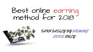 Best way to earn online - Make money by viewing adds-social add world