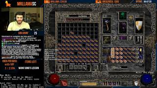ONE ITEM REMAINS!!!!!!!!!!!!!! Diablo 2 - Holy Grail Sorc - GG FIND #67